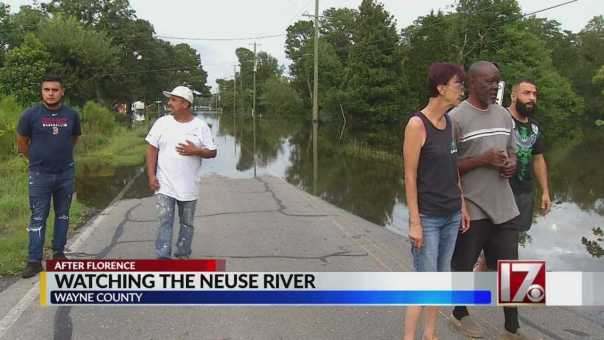 Wayne County residents keep eyes on Neuse River, flood levels