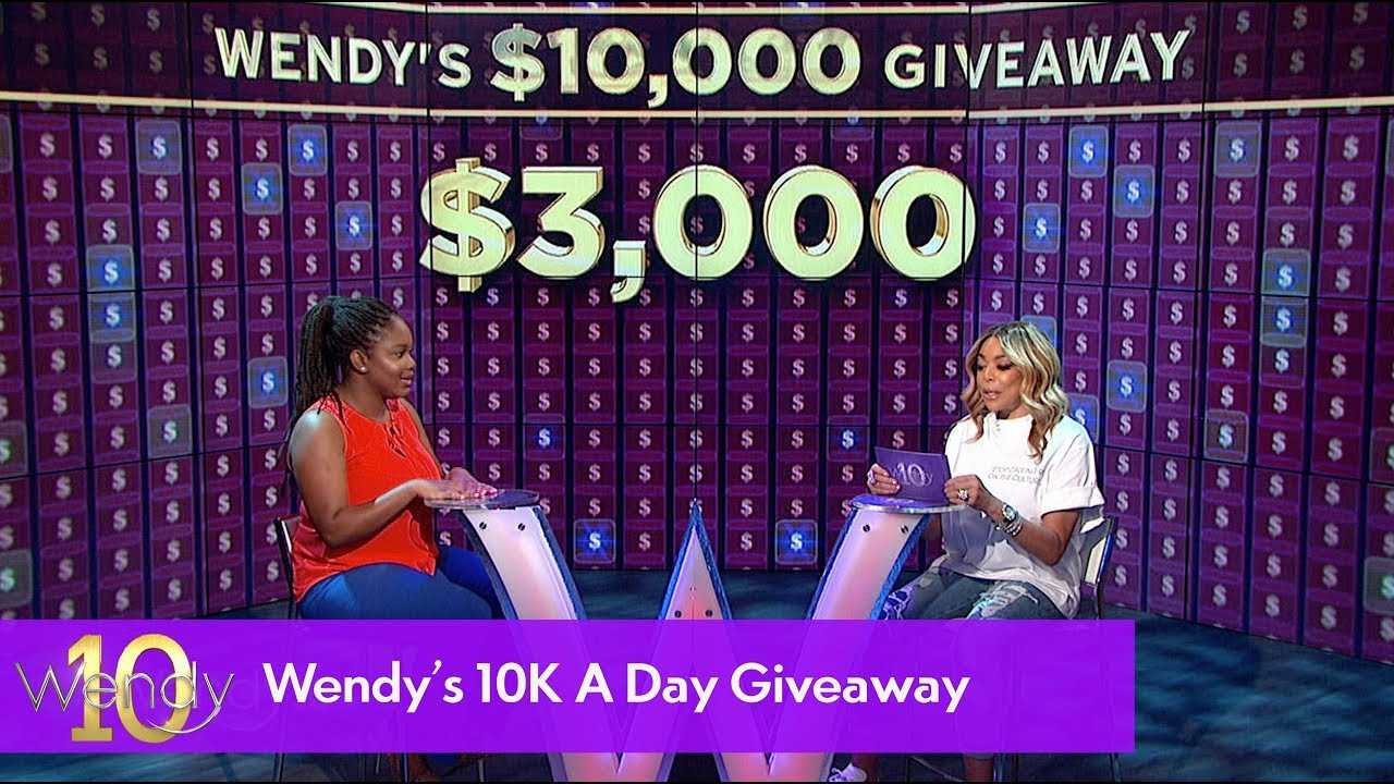 Wendy's $10,000 A Day Giveaway: Day 5