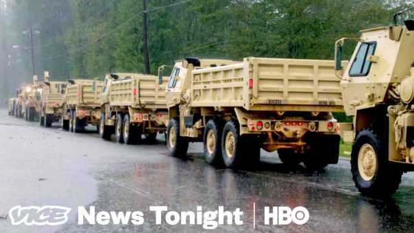 What Happened When This Family Chose To Stay For Hurricane Florence (HBO)