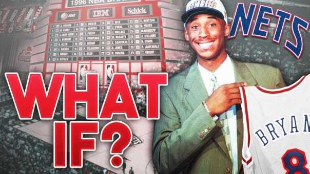 new product 4075b 0493f What If KOBE BRYANT was Drafted By The NEW JERSEY NETS ...
