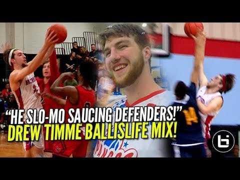 """WHITE BOY SLO-MO SAUCING DEFENDERS!"" Drew Timme Ballislife Mixtape!"