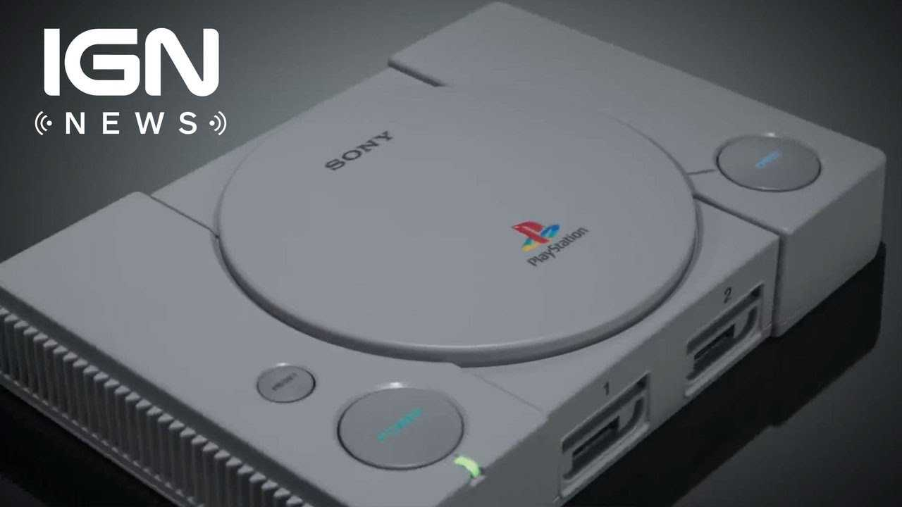 Will the PlayStation Classic Have Online Play? - IGN News