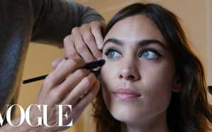 Alexa Chung Gets Ready for the Miu Miu Show With…