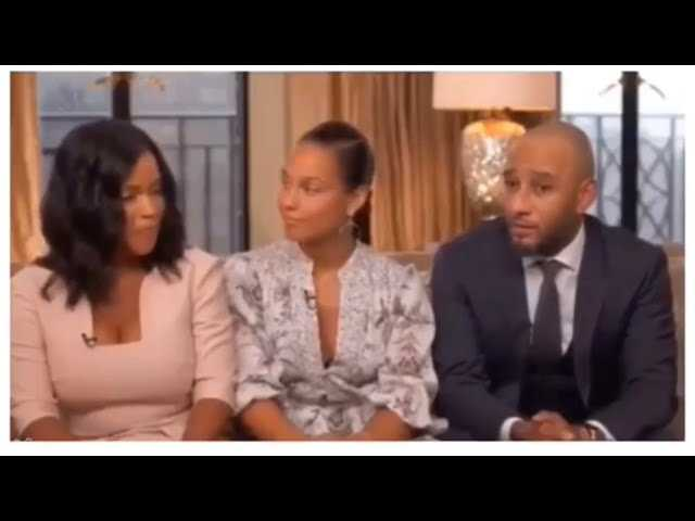 Alicia Keys Swizz Beatz And His Ex Wife Mashonda Discussed How They Made Their Blended Family Work