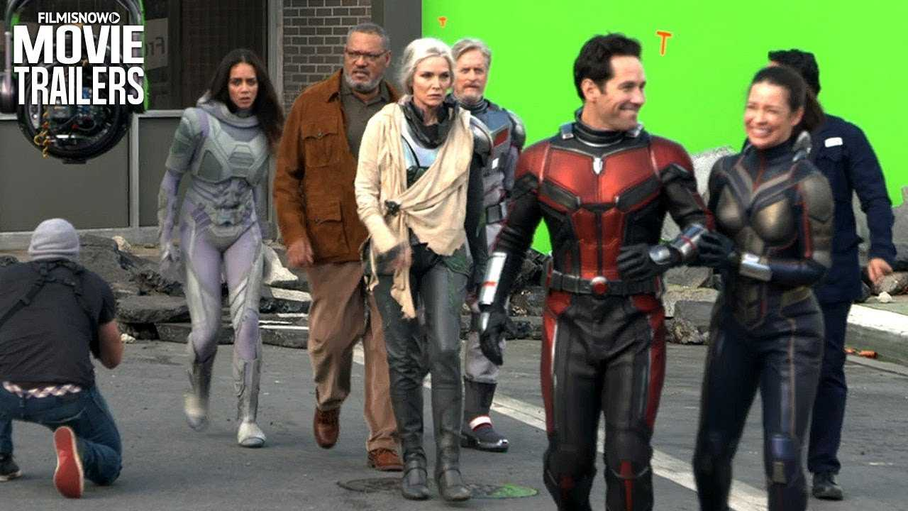 ANT-MAN Bonus Features Compilation for Digital/Blu-Ray Release