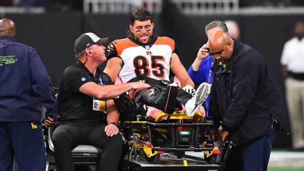 Bengals Tyler Eifert DISLOCATES Ankle On Snap!