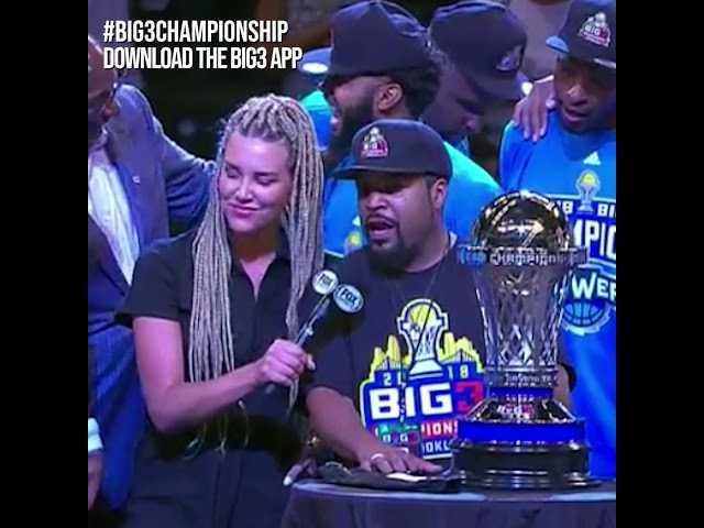 Big 3 Ice Cube Post Championship Interview