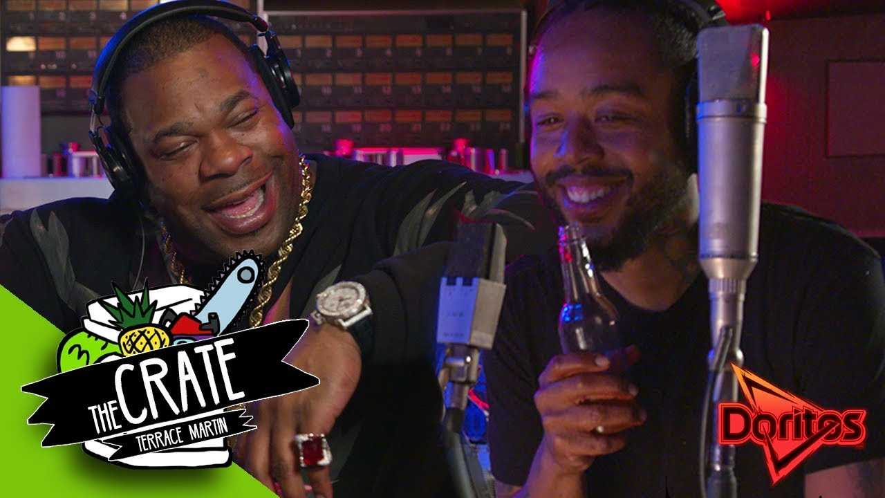 Busta Rhymes & Terrace Martin Make A Fire Beat On The Spot (Teaser) | The Crate