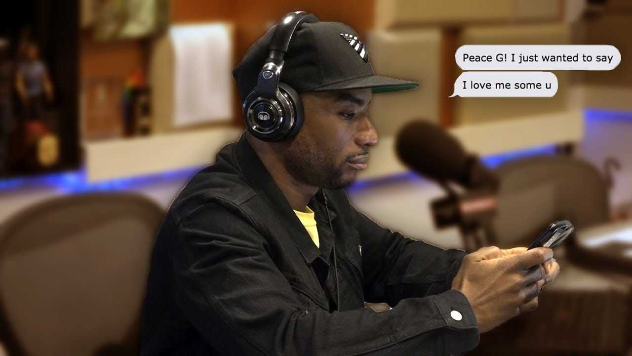 Charlamagne Shares A Strange Text He Received This Weekend