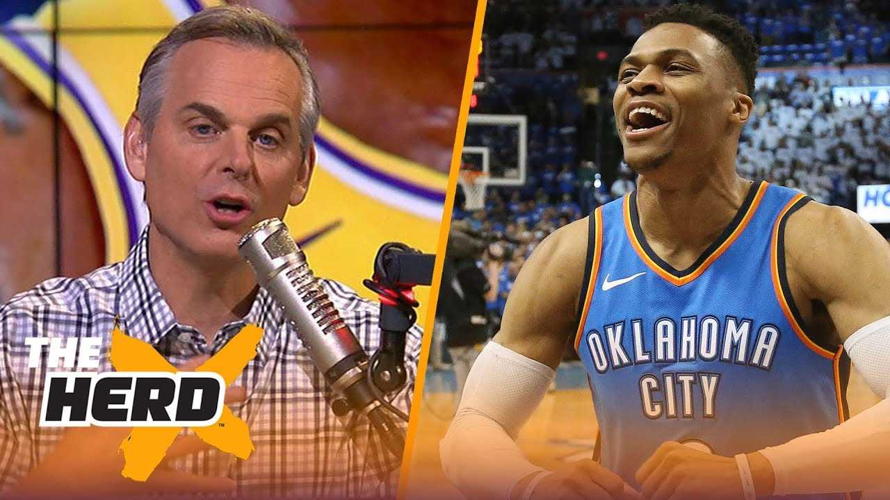 Colin Cowherd believes NBA GMs told us the truth about LeBron, KD and Westbrook | NBA | THE HERD