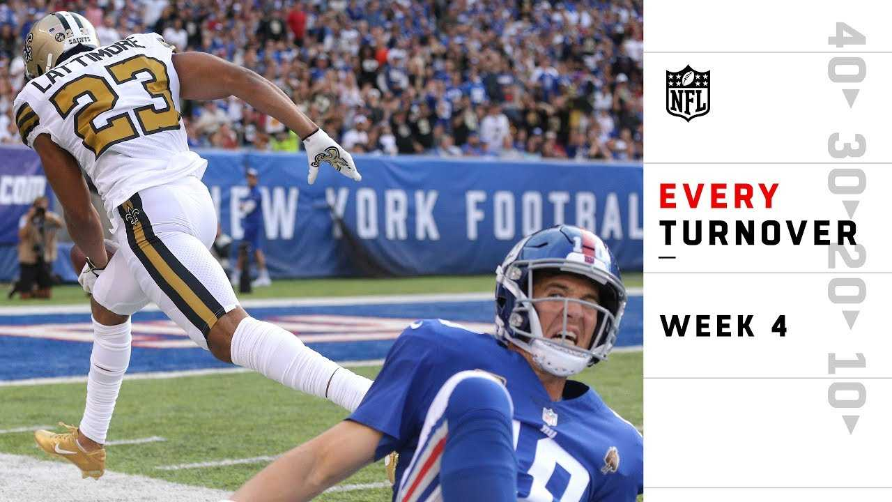 Every Turnover from Sunday | NFL Week 4 Highlights
