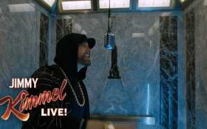 "EXCLUSIVE – Eminem Performs ""Venom"" from the Empire State Building!…"