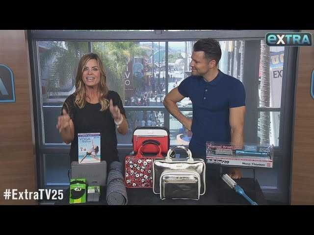 'Extra's' Pop-Up Shop: Yoga Sets, Cosmetic Satchels, and Thermal Brushes