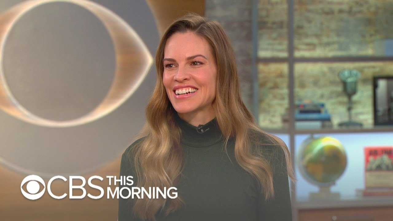 "Hilary Swank on ""What They Had,"" finding love again, and her return to acting"