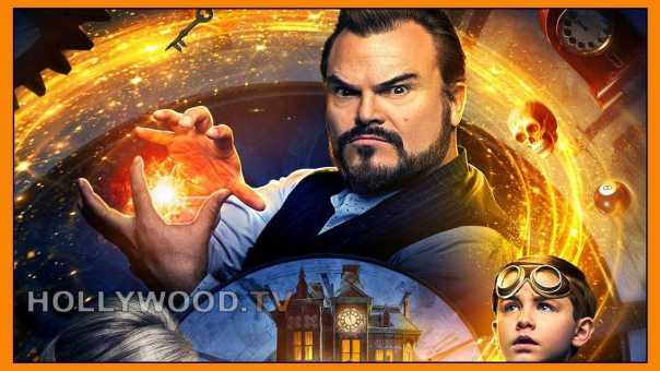 "Jack Black talks ""saving the world"" – new movie ""The House with a Clock in Its Walls"" – Hollywood TV"