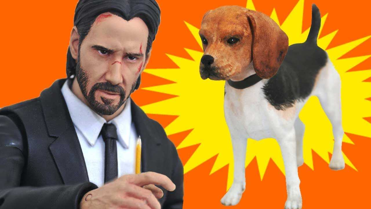John Wick's New Action Figure Includes His Cute Dog - IGN Access