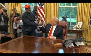 Kanye West goes hero worship on President Trump in Oval…