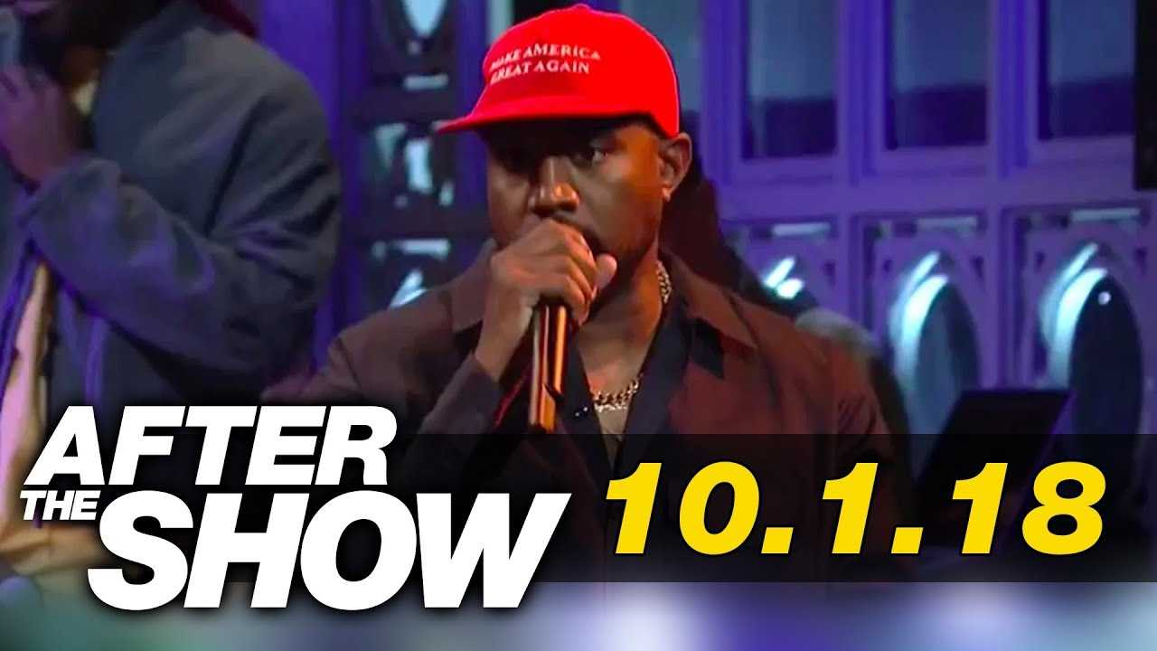Kanye West Goes on Rant on SNL About Trump and Being Bullied | After The Show