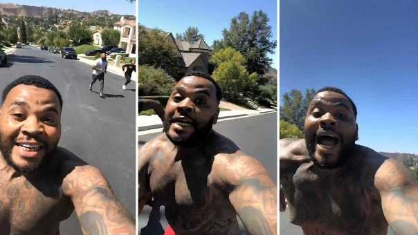 Kevin Gates Shows How Fast He Is