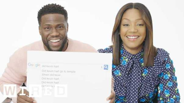 Kevin Hart & Tiffany Haddish Answer the Web's Most Searched Questions | WIRED