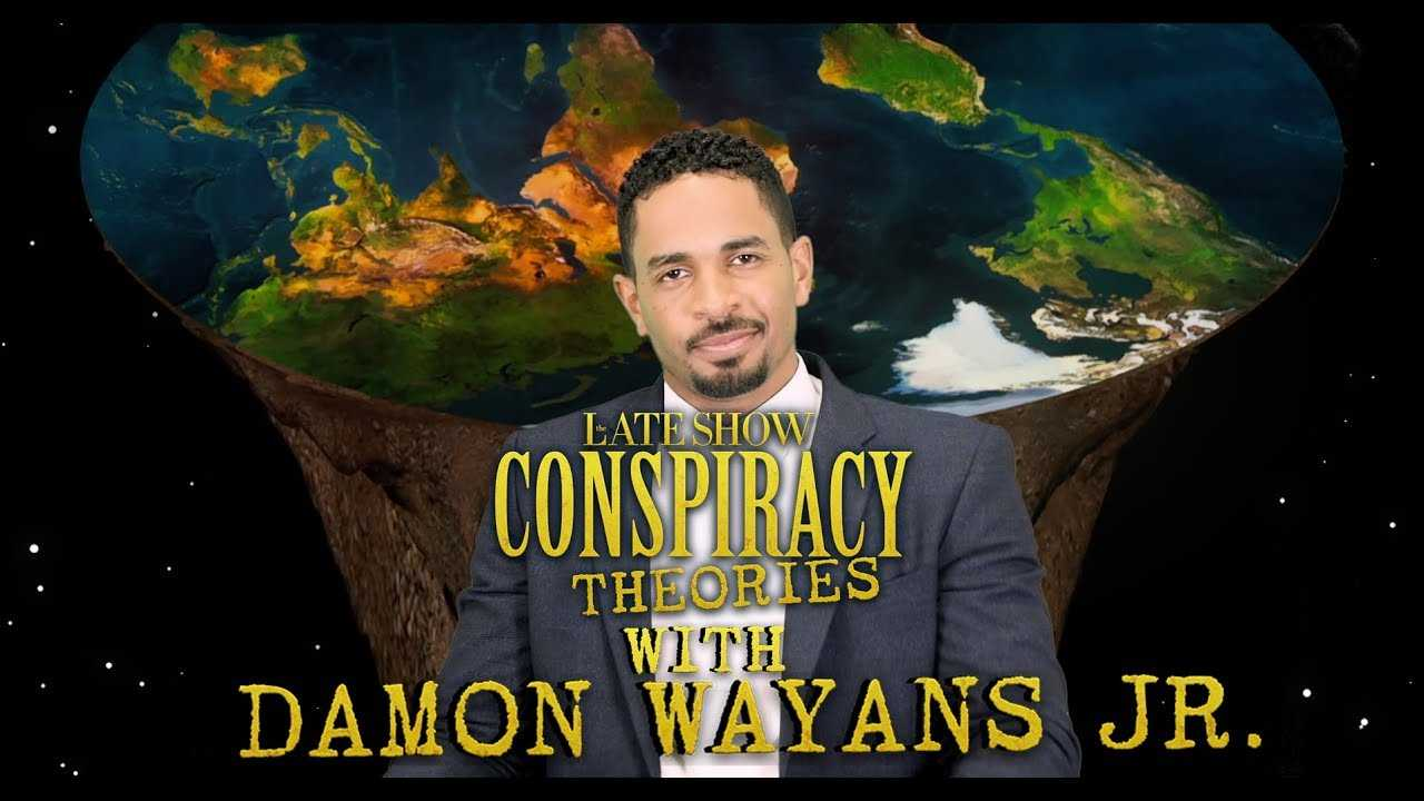 Late Show Conspiracy Theories with Damon Wayans Jr.
