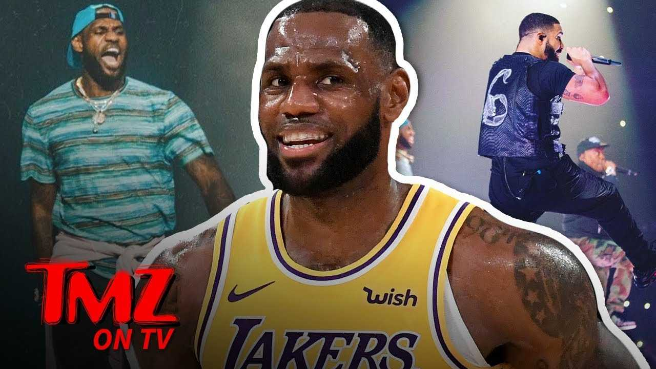 LeBron, Drake, & Travis Scott Go 'Sicko Mode' In L.A.! | TMZ TV