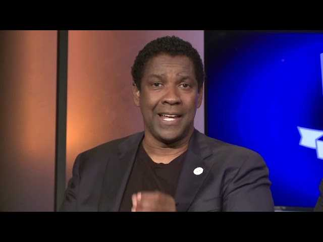 Life lessons for Denzel Washington began at Boys and Girls Club