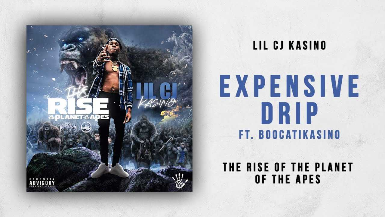 Lil CJ Kasino - Expensive Drip Ft. BoocatiKasino (The Rise of the Planet of the Apes)
