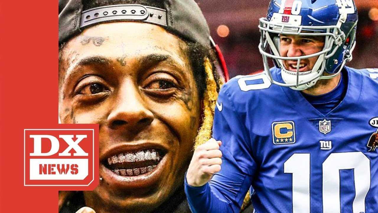 "Lil Wayne Tells Eli Manning He Should Listen To ""Tha Carter V"" To Help Him Play Better"