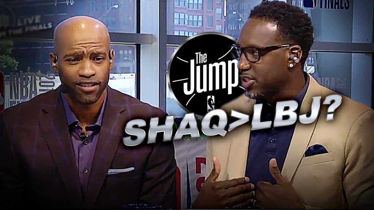 McGrady Changed His Favourite Player To Play With From LeBron To Shaq | The Jump