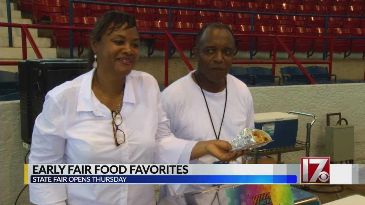 Media picks early state fair food favorites