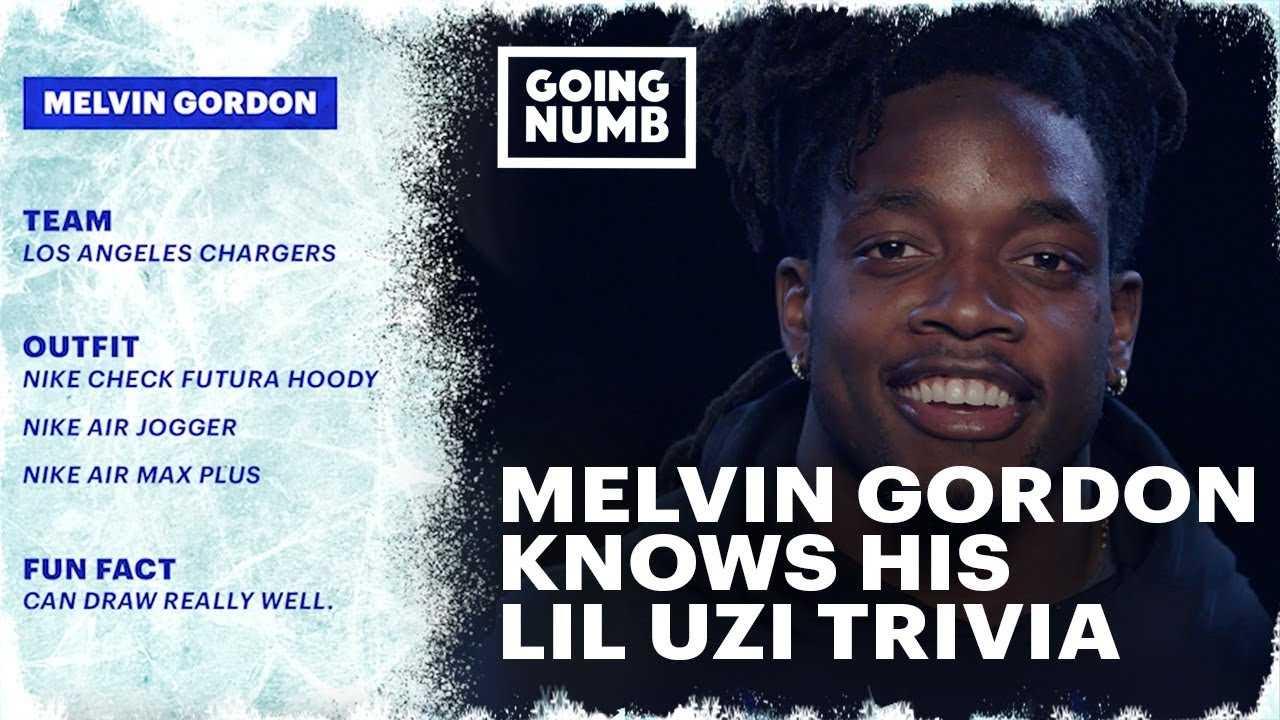 Melvin Gordon Knows His Lil Uzi Trivia | Going Numb