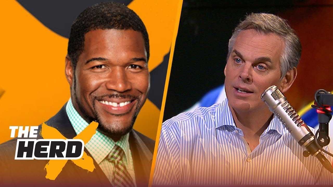Michael Strahan talks Jon Gruden's Raiders, and if Baker Mayfield will be a star | NFL | THE HERD