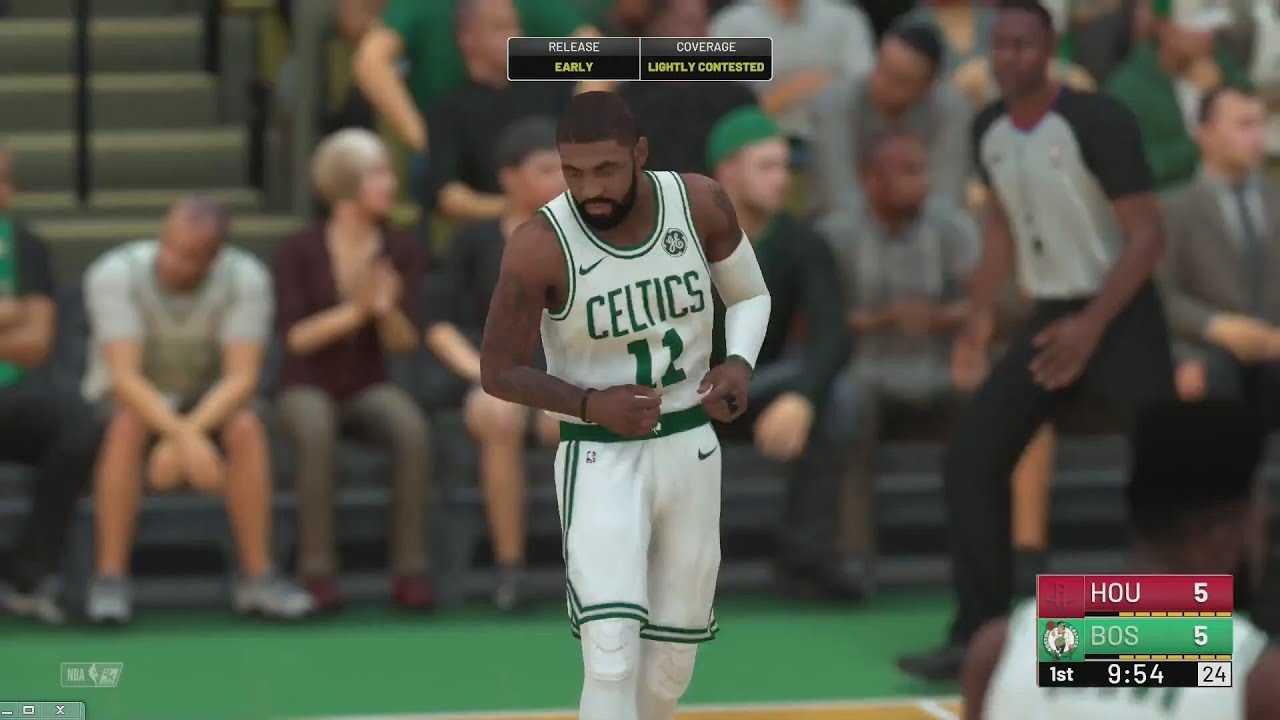 NBA 2K19 - Houston Rockets vs Boston Celtics Gameplay | Play Calling