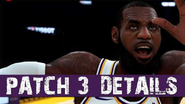 NBA 2K19 – Patch 3 Fixes VC Issues, Park Issues, Custom Jumpshot & More!