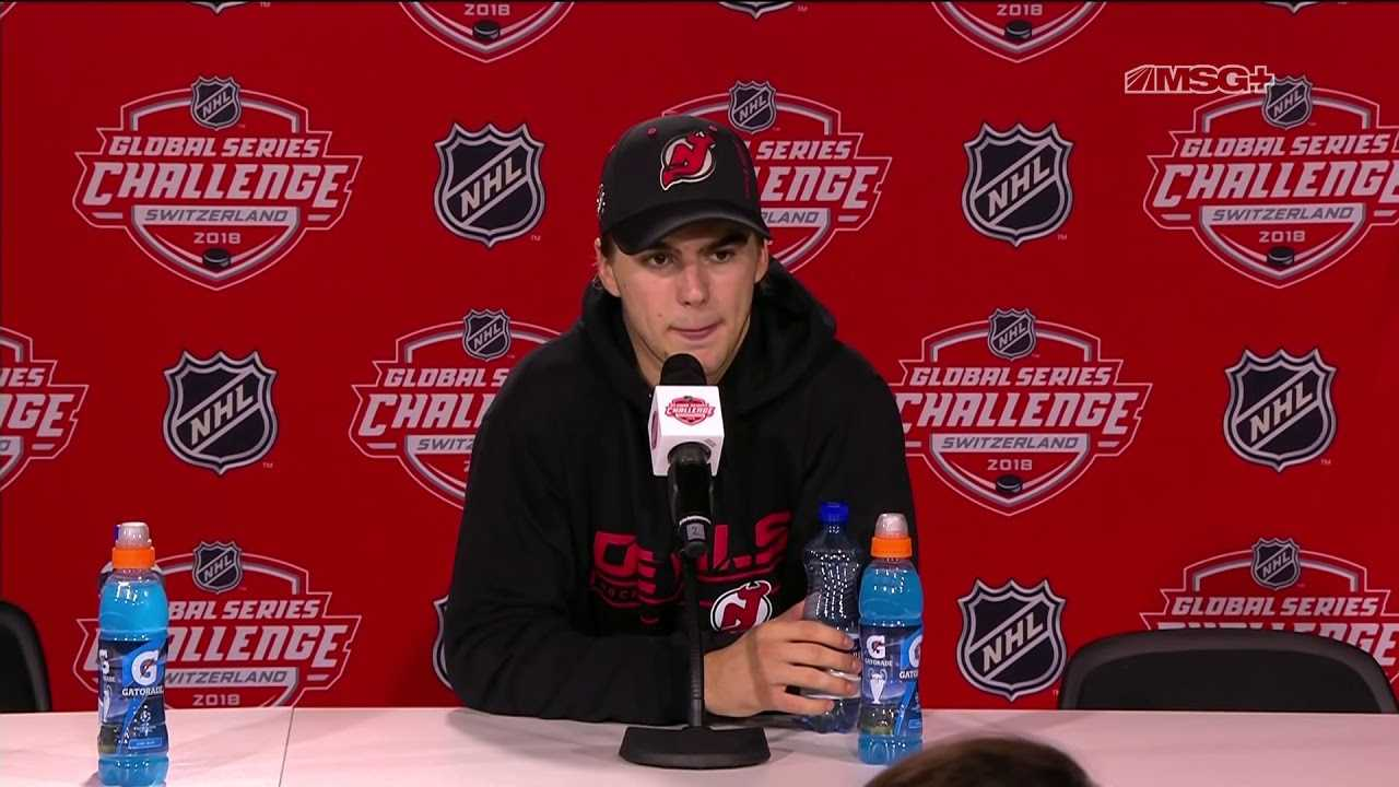 Nico Hischier Overwhelmed With Reception From Swiss Fans | New Jersey Devils | MSG Networks