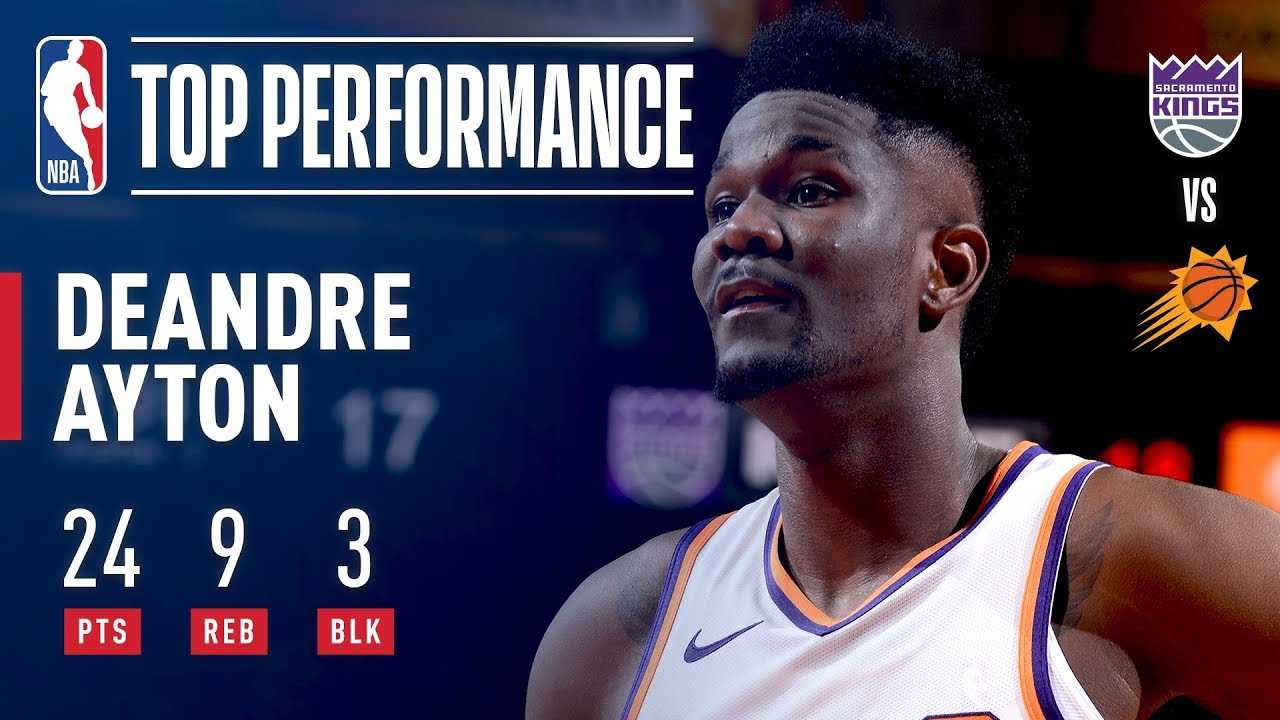 Number 1 Overall Pick DeAndre Ayton's NBA Debut   2018 NBA Preseason