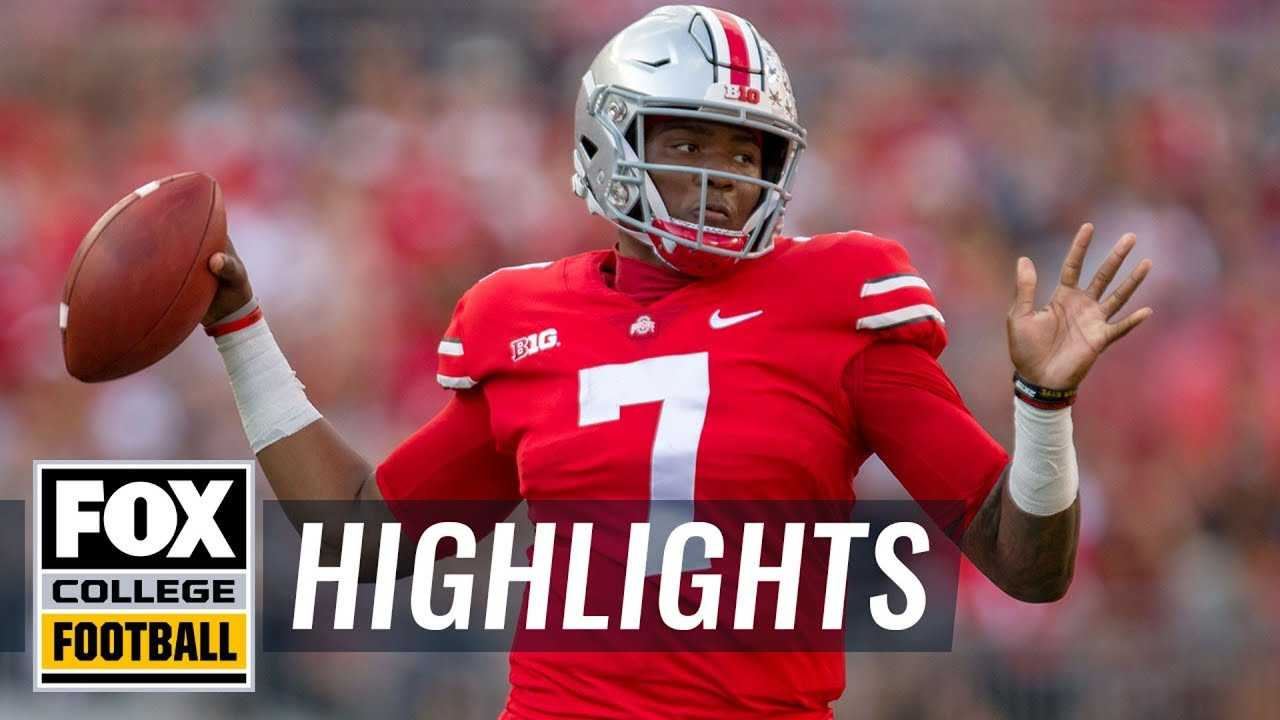 Ohio State vs. Indiana | FOX COLLEGE FOOTBALL HIGHLIGHTS