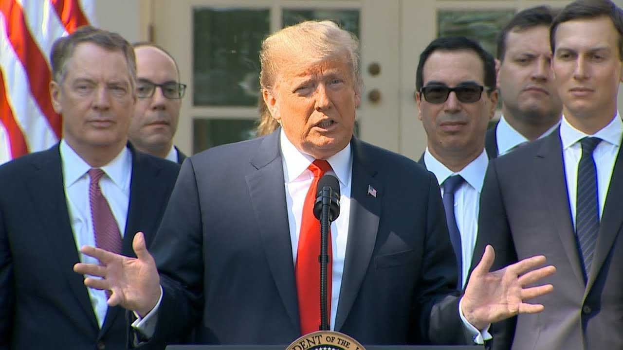 President Trump delivers remarks on new trade deal with Mexico, Canada   ABC News