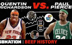 Quentin Richardson vs. Paul Pierce was a confusing, embarrassingly one-sided…