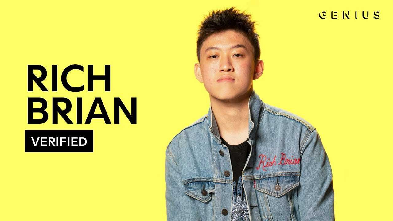 """Rich Brian """"History"""" Official Lyrics & Meaning   Verified"""