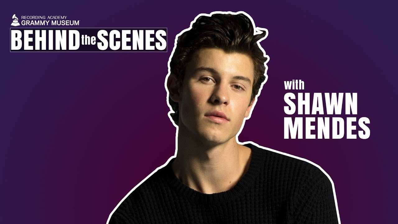 Shawn Mendes on 'In My Blood,' Alicia Keys & Who He Can't Stop Listening To   GRAMMY Museum