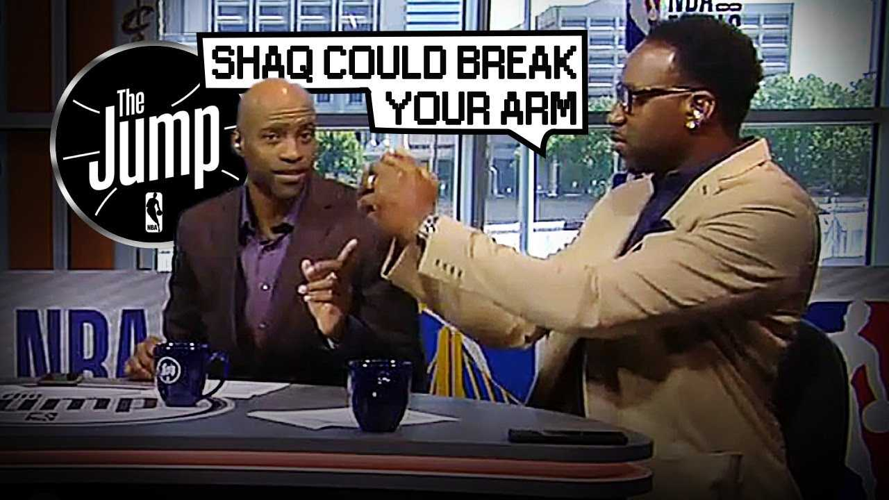 """T-Mac & Carter On Playing Against Shaq: """"He could break your arm"""" 