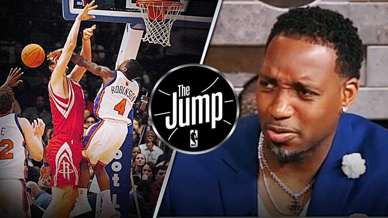 T-Mac Protects His Former Teammate Yao Ming Against Nate Robinson's Monster Block | The Jump