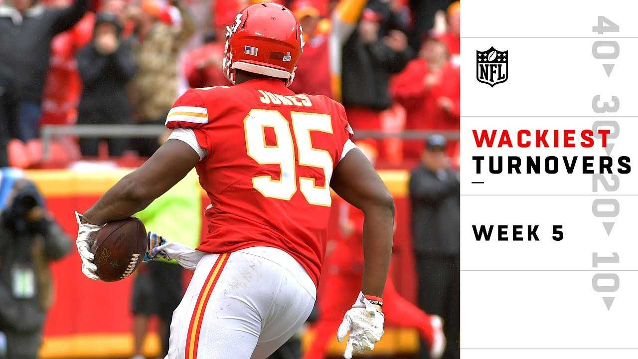 Wackiest Turnovers from Sunday | NFL Week 5 Highlights