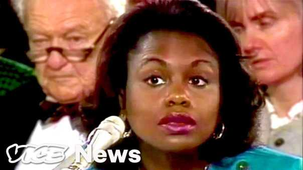 Watch The Most Outrageous Questions Senators Asked Anita Hill In 1991