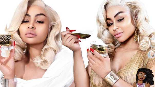 Blac Chyna SLAMMED for Selling Skin Bleaching Cream Called WHITENICIOUS