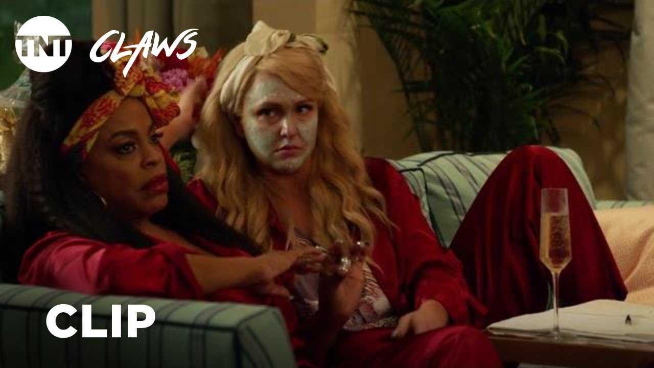 Claws: Sleepover - Season 2, Ep. 10 [CLIP] | TNT