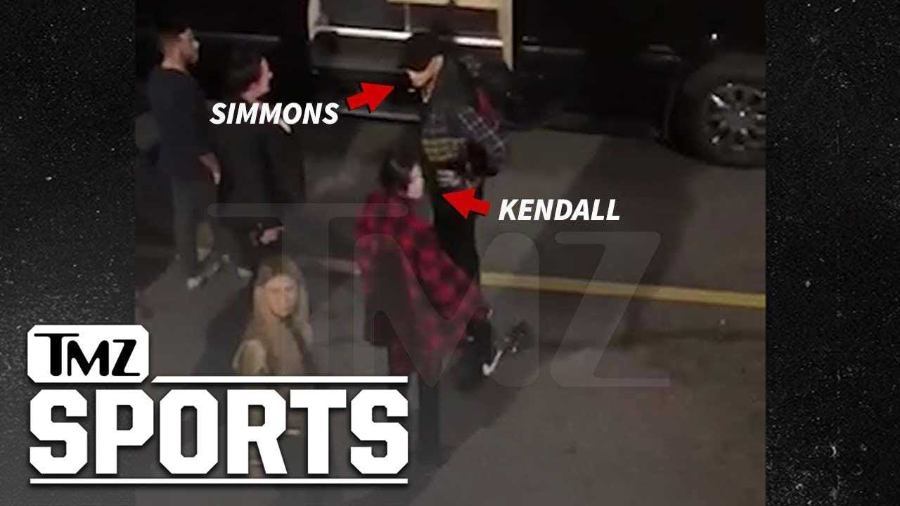Kendall Jenner Rebounding with Ben Simmons After 76ers Game