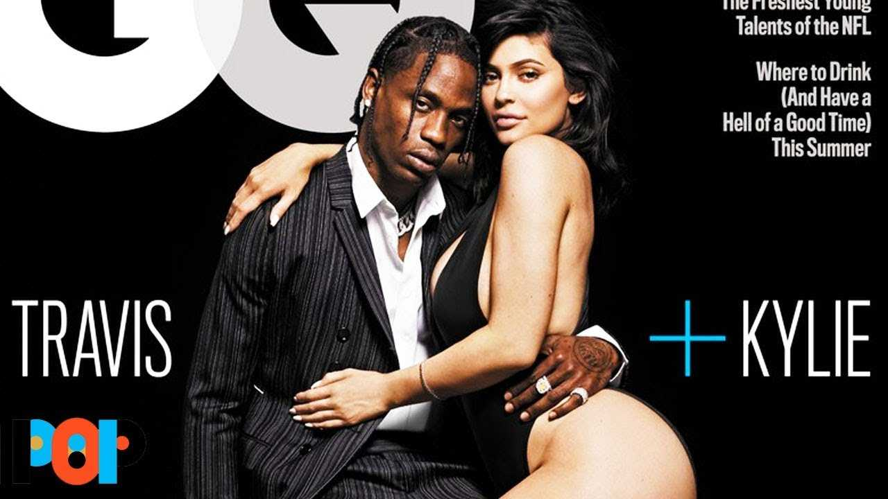 Kylie Jenner And Travis Scott Hot GQ Cover DETAILS